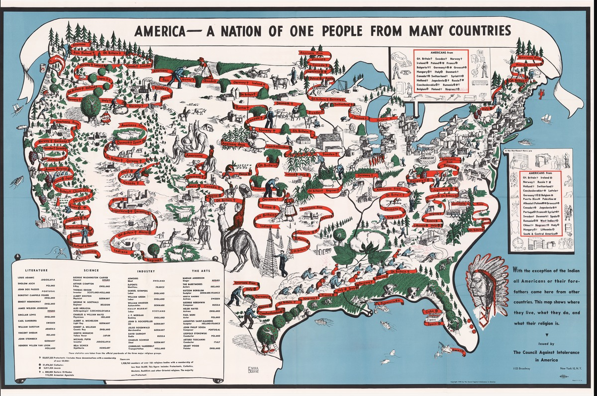 MAP: 37 maps that explain how America is a nation of ...