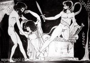 Thanatos & Alcestis