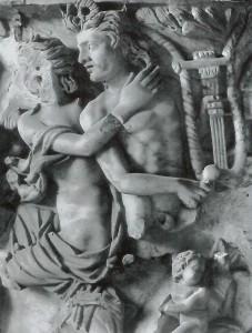 Nereid Embracing Triton