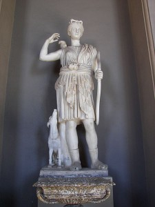 Diana, goddess of the hunt, Vatican Museum collection