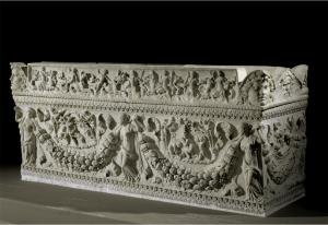 Actaeon Sarcophagus. 1st century CE. Musée du Louvre, Paris, France.