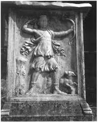 Funerary altar of Aelia Tyche. Nemi, Museo delle Navi (photo Granino, DAIR, neg. no. 94.736).