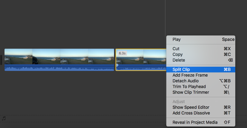 How To Split a Clip and Detach its audio in iMovie 10 – MEWS