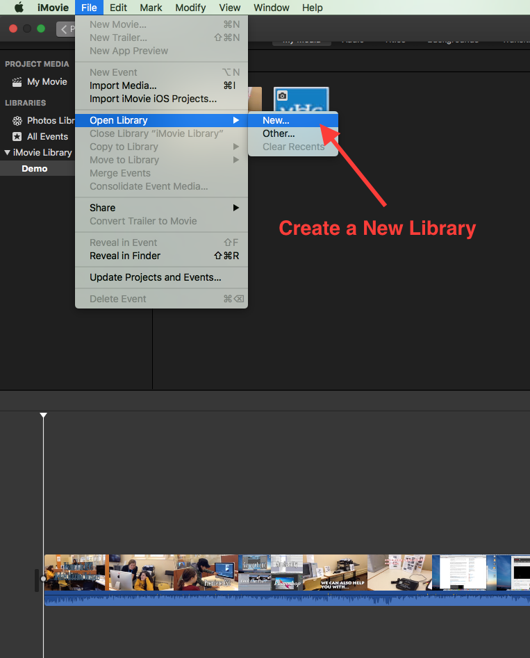Saving iMovie Project to an External Hard Drive – MEWS News
