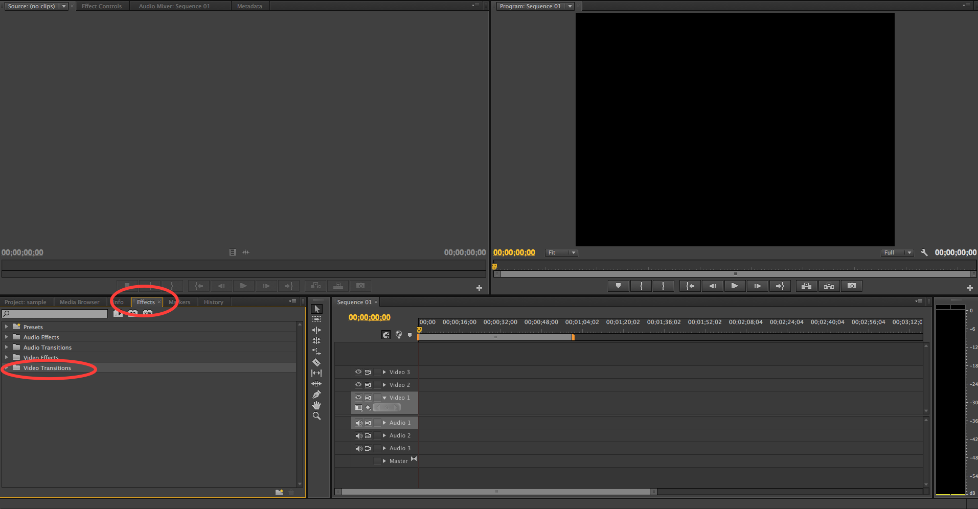 how to add a transition in premiere pro cs6