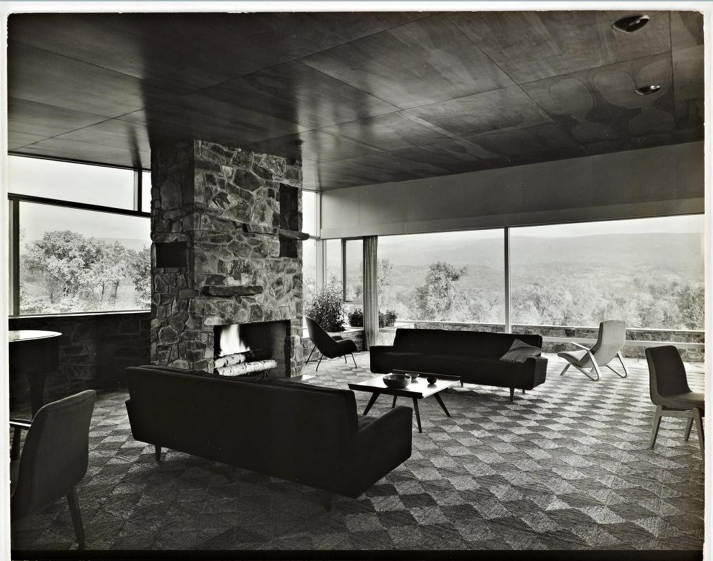 Robinson House Marcel Breuer Modern Architecture Blog