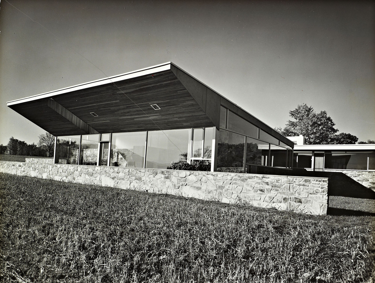 Robinson house marcel breuer modern architecture blog Home architecture blogs