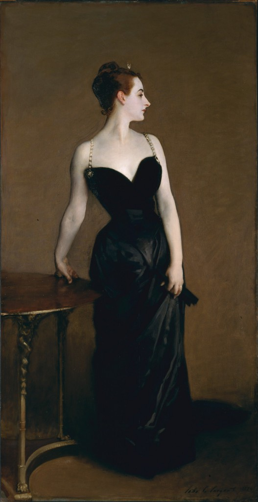 1. What strikes you most prominently about this portrait? 2. How do you think Sargent felt about Madame X? 3. Do you think this is a beautiful painting? What accounts for its beauty 4. If you discovered that this painting caused a scandal, how would that change your understanding of it?