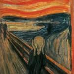 Edvard Munch, The Scream, 1893 National Gallery Oslo Norway