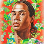 Michael Borges Study, Kehinde Wiley, 2008