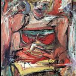 Willem de Kooning, Woman V (1952–53), National Gallery of Australia