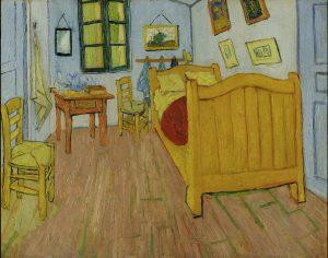Vincent Van Gogh, Schlafzimmer in Arles, 1888, Van Gogh Museum