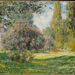 Claude Monet, 1876, 23 1/2 x 32 1/2 in.