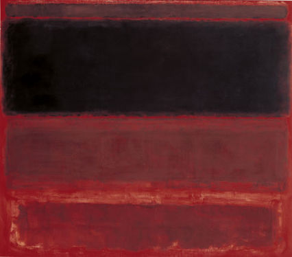 1.How does this painting differ from the other abstract paintings you have seen? 2. How do the large, rectangular fields of color affect you? 3. What do you think the artist is trying to communicate? 4. Do you think this painting is beautiful?