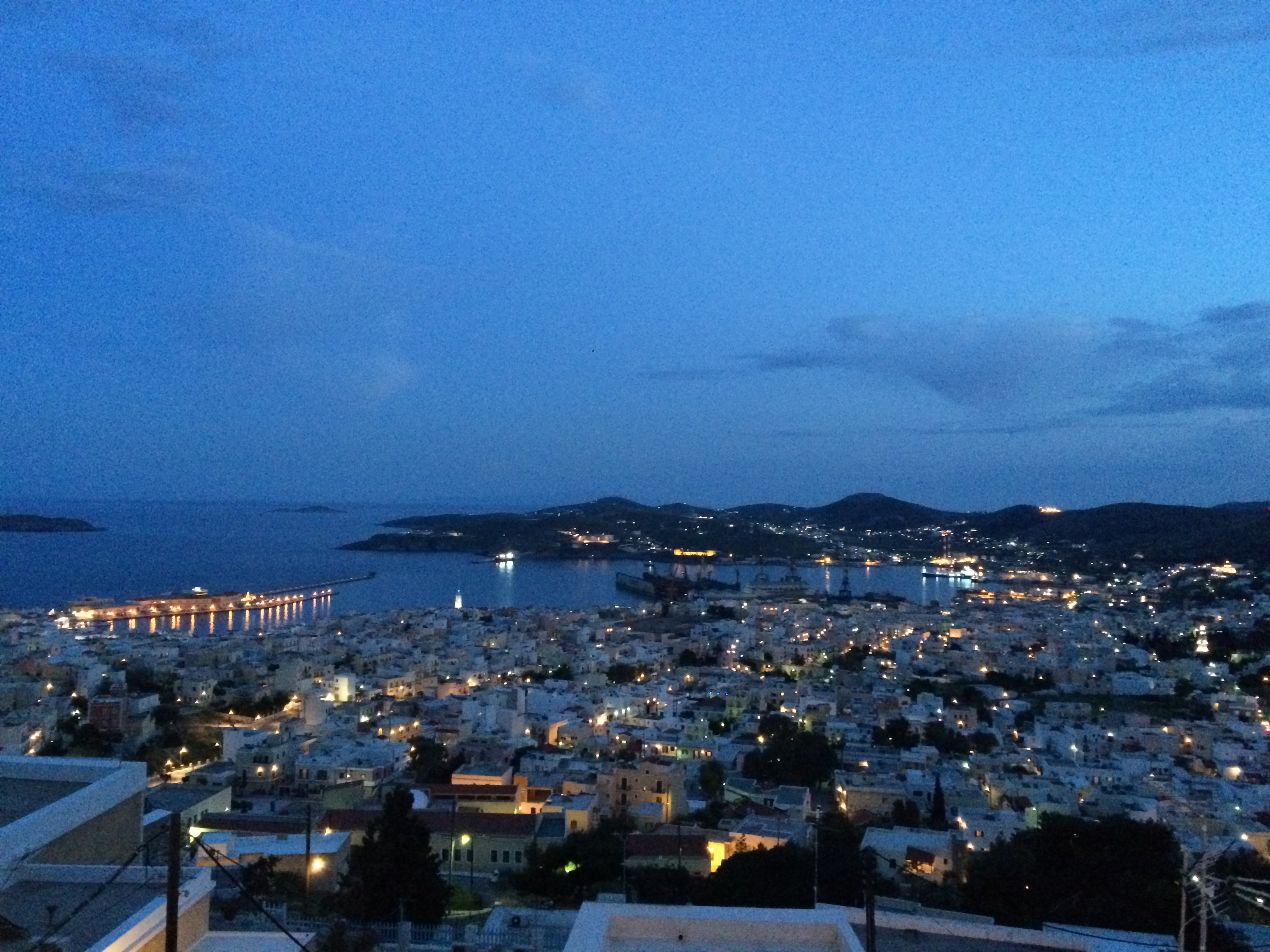 Syros from above